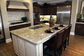 kitchen islands granite top kitchen island with breakfast bar medium size of black granite
