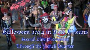 halloween 2014 in new orleans second line through the french