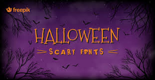 5 halloween fonts for creating scary designs