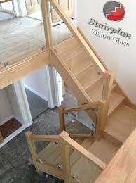 oak staircase with vision glass balustrades don u0027t like this with