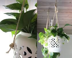 indoor hanging pots cheap hanging planter ideas for home with