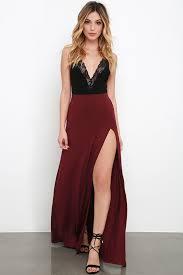 black maxi skirt with slit maroon skirt maxi skirt side slit skirt 38 00