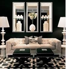 Black And White Living Room Decor A Glamorous Life Elegant Living Room Ideas Hollywood Regency