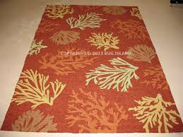 Coral Outdoor Rug by 3x9 2 U00276