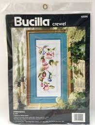 dimensions crewel embroidery kit 1484 bayshore blossoms