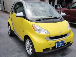 2008 smart u2013 4two lemon yellow with duo color interior sale