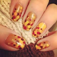 diy thanksgiving nail