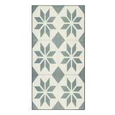 tapis de cuisine alinea tapis de cuisine carreaux de ciment 50x80cm en vinyle