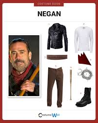 Carl Grimes Halloween Costume Dress Negan Costume Halloween Cosplay Guides
