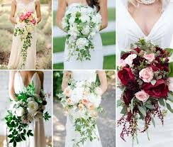 cascade bouquet types of bouquets fiftyflowers the