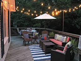 String Lights On Patio Patio String Lights Home Design Ideas Adidascc Sonic Us