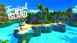 tropical island theisland challenge sims 4 house build