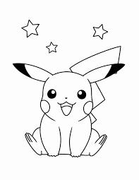 Dessin De Pikachu Génial Coloriage De Pokemon Mega Evolution