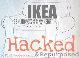 ikea slipcovers ikea slipcover hacked and repurposed