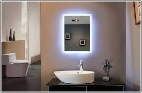 bathroom mirror with lights behind elegant bathroom mirrors lights behind 2016 ideas designs intended