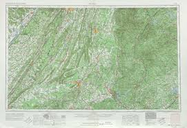 United States Topographic Map