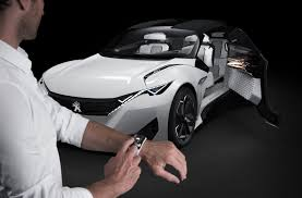 peugeot concept peugeot fractal concept an angry looking u0027urban coupe u0027 by car