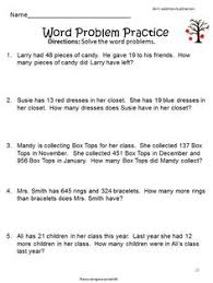 fractions word problems 3rd grade worksheets fraction word