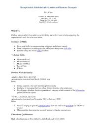 front desk receptionist resume sample resume for your job