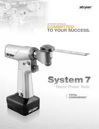 system 7 stryker pdf catalogue technical documentation