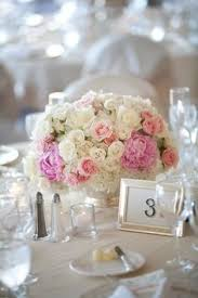 White Roses Centerpiece by Great Idea For A Low Rise Budget Centerpiece Multiple Colors Of