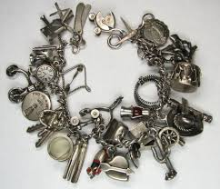 vintage charm bracelet charms images Thrift score and more vintage charm bracelet jpg