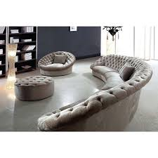 Curved Sectional Recliner Sofas Curved Sectional Vtage Sofa With Recliners Covers