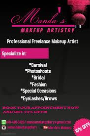 freelance makeup artist business card customizable design templates for makeup artist postermywall