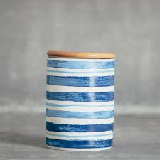 lapis canister relish decor