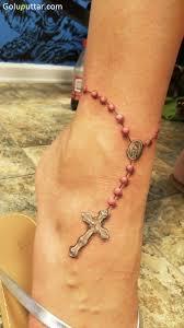 realistic chain bracelet cross tattoo for goluputtar com