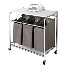 laundry hamper for small spaces decor u0026 tips modern rolling laundry cart for small space sorter