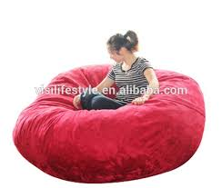 Bean Bag Sofa Bed by Fashion Modern Microsuede Soft Sofa Large Round Lazy 5ft Beanbag