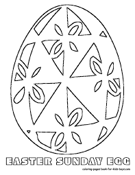 easter eggs decor coloring sheets at coloring pages book for kids