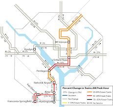 Dc Metro Blue Line Map by Wtop Track Work Guide March 4 April 1 Wtop