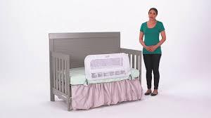 Crib Rails For Convertible Cribs Stunning Evolur Convertible Crib Toddler Bed Rail U Reviews