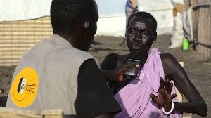Radio Miraya Juba News Hellen Toby Journalist At Eye Radio In South Sudan Youtube