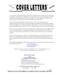 cover letter general cover letter examples student cover letter