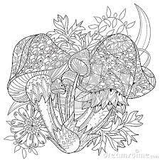 afbeeldingsresultaat voor magic mushroom coloring pages mikeys