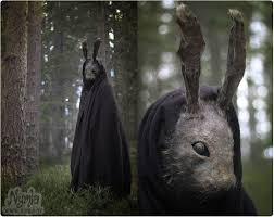 scariest masks creepy rabbit mask by nymla deviantart on deviantart