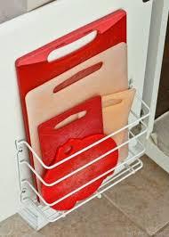 kitchen cabinet door storage racks cabinet door storage ideas organization tricks for cabinets