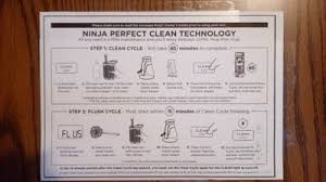 ninja coffee bar clean light keeps coming on ninja coffee bar system review smart choices for the home