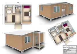 nice prefab fourplex 4 50sqm 1 bedroom jpg house plans