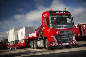 volvo heavy vehicles new heavy hitter for denby commercial motor