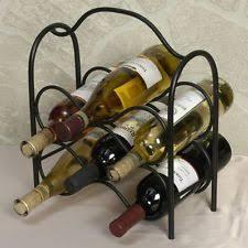 iron countertop wine racks u0026 bottle holders ebay