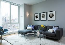Living Room Colour Schemes With Black Sofa Home Remodeling - Latest living room colors