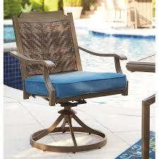 Swivel Patio Dining Chairs Bay Isle Home Goufes Swivel Patio Dining Chair With Cushion