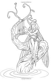 fairy mermaid coloring pages 1698 best coloring pages images on pinterest coloring books
