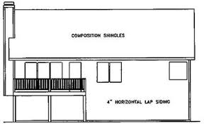 split level homes plans traditional split level home plan 2068ga architectural designs