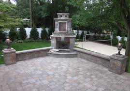 Fire Pit Kits by Decor Best Outdoor Patio Ideas With Winsome Unilock Fireplace