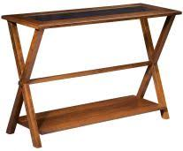 Wood Sofa Table Solid Wood Sofa And Console Tables Countryside Amish Furniture